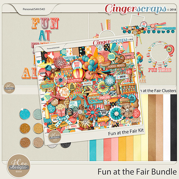 Fun At The Fair Bundle by JoCee Designs