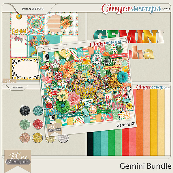 Gemini Bundle by JoCee Designs