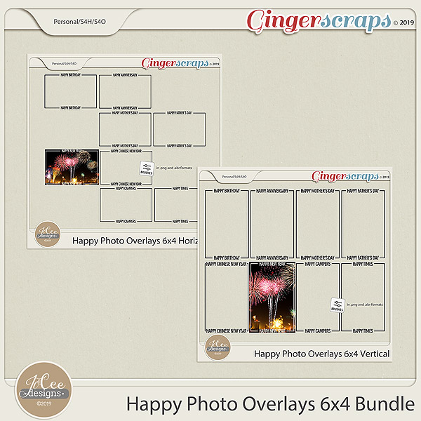 Happy Overlays 4x6 Bundle