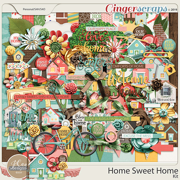 Home Sweet Home by JoCee Designs