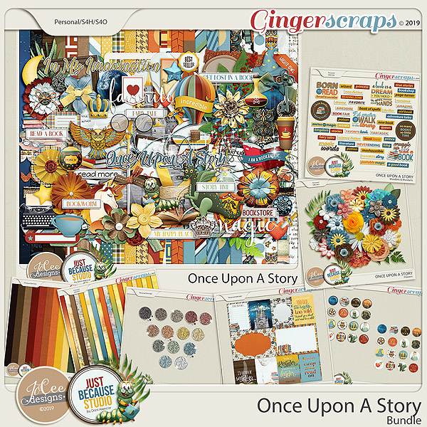 Once Upon A Story Bundle by JoCee Designs and Just Because Studio