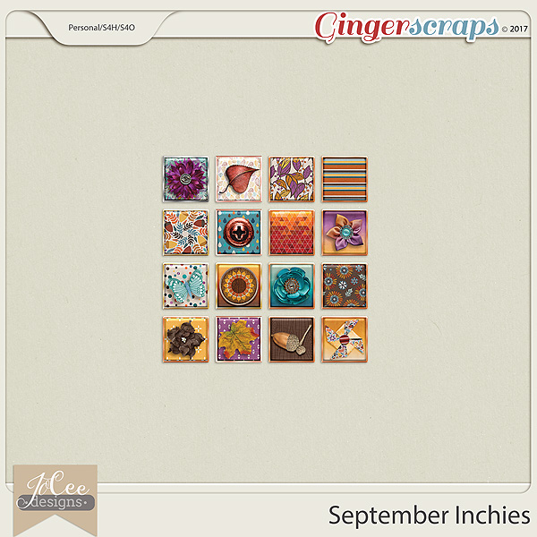 September Inchies by JoCee Designs