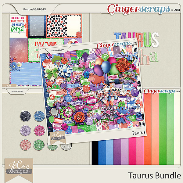 Taurus Bundle by JoCee Designs
