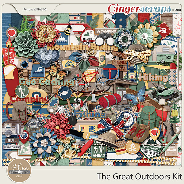 The Great Outdoors Kit by JoCee Designs