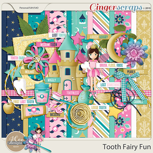 Tooth Fairy Fun Kit by JoCee Designs