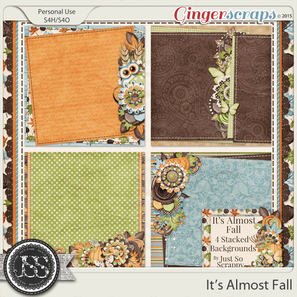 It's Almost Fall Stacked Backgrounds