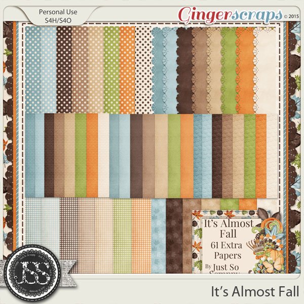It's Almost Fall Pattern Papers