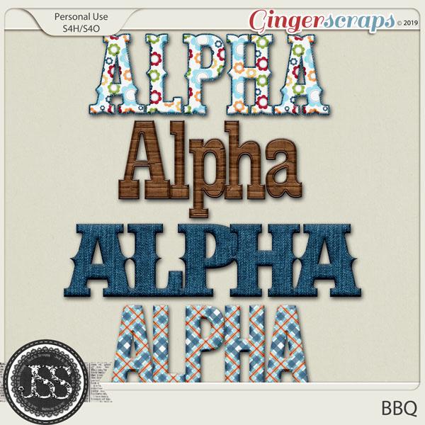 BBQ Alphabets