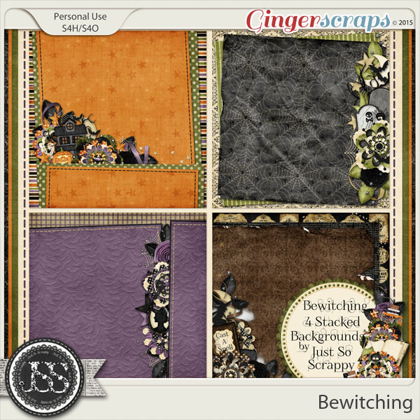 Bewitching Stacked Backgrounds