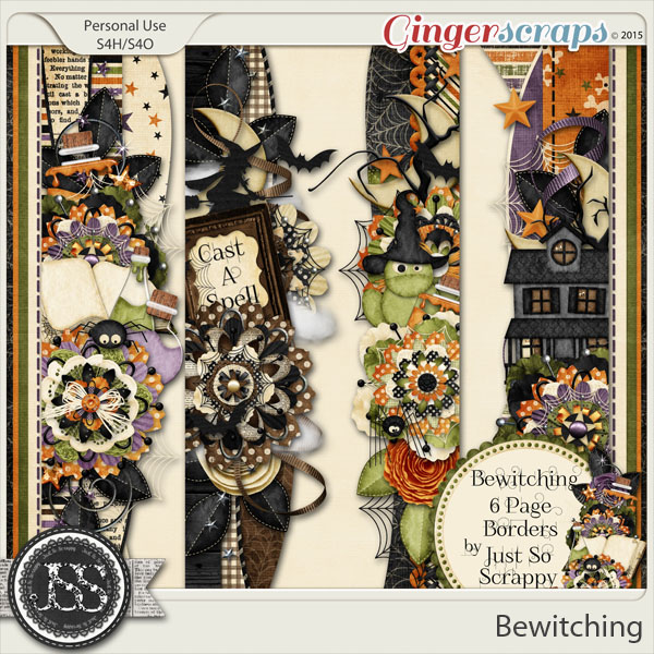 Bewitching Page Borders