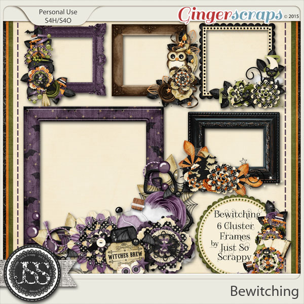 Bewitching Cluster Frames
