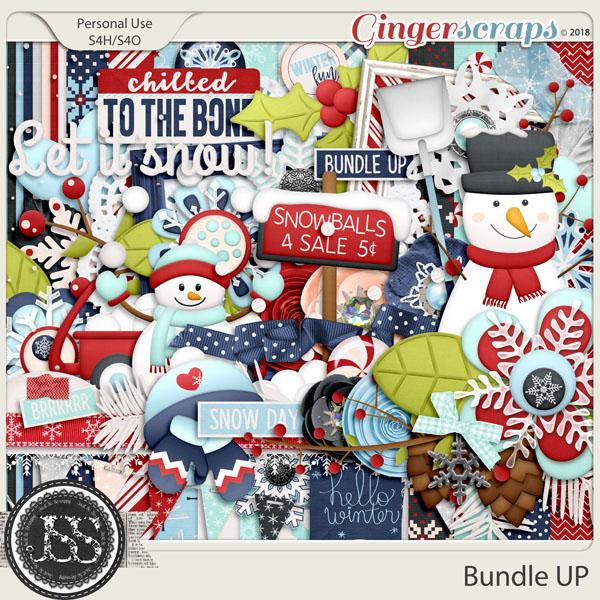 Bundle Up Digital Scrapbook Kit