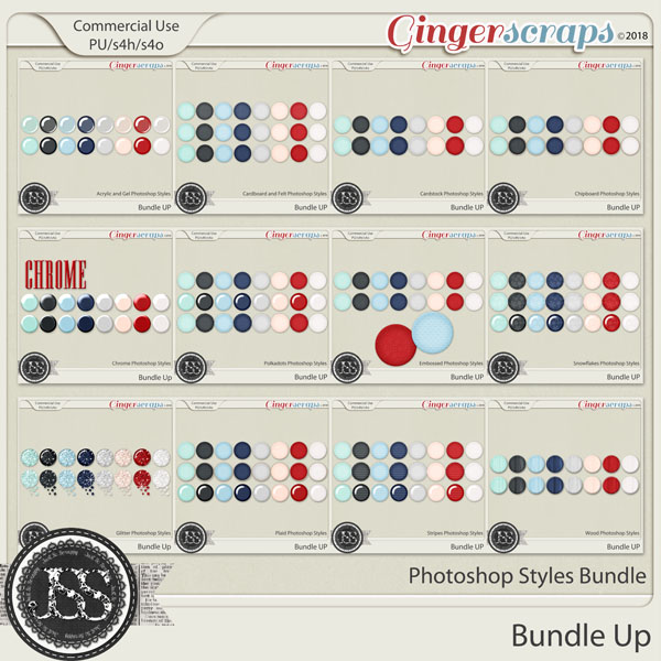 Bundle UP CU Photoshop Style Bundle