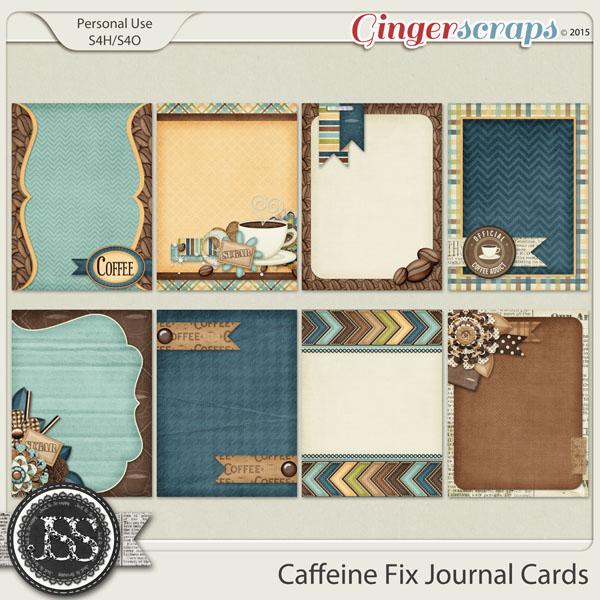 Caffeine Fix Journal Cards