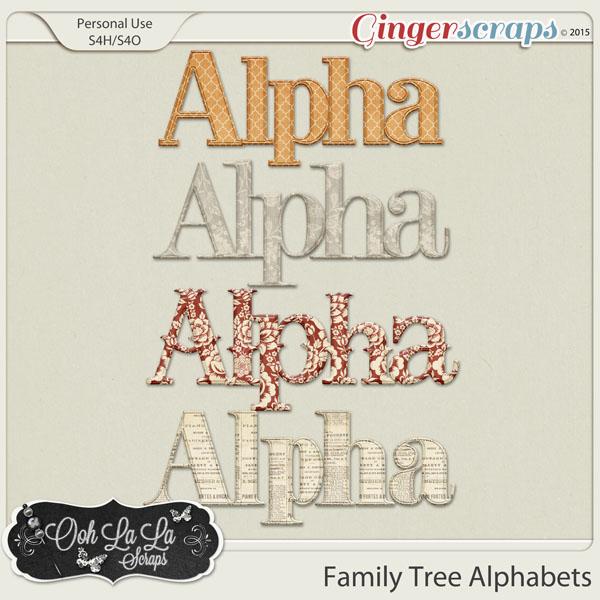 Family Tree Alphabets