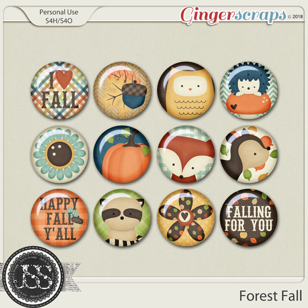 Forest Fall Flairs