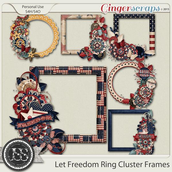 Let Freedom Ring Cluster Frames