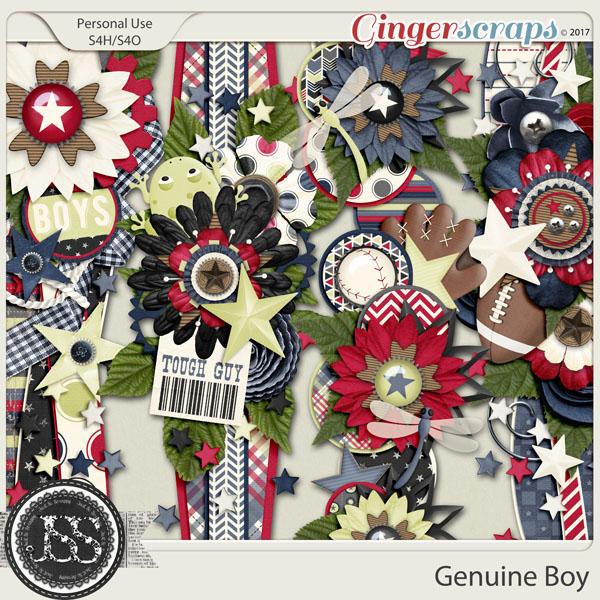 Genuine Boy Page Borders