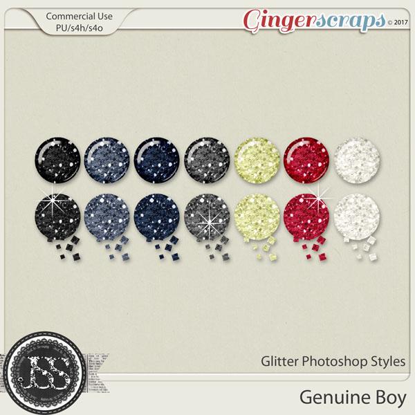 Genuine Boy Cu Glitter Photoshop Styles
