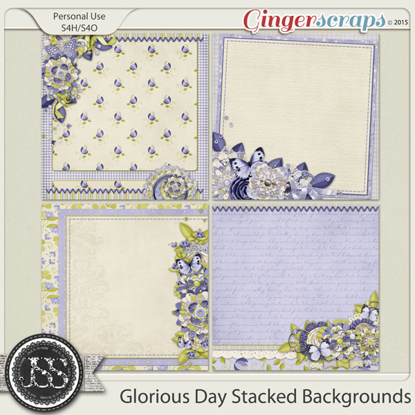 Glorious Day Stacked Backgrounds