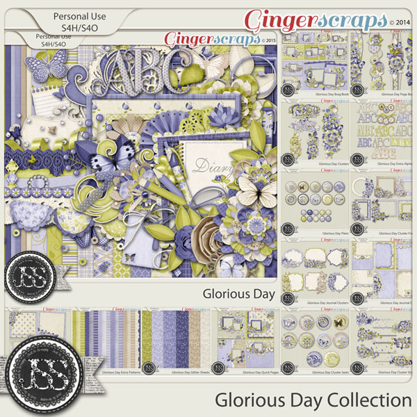 Glorious Day Digital Scrapbook Bundle