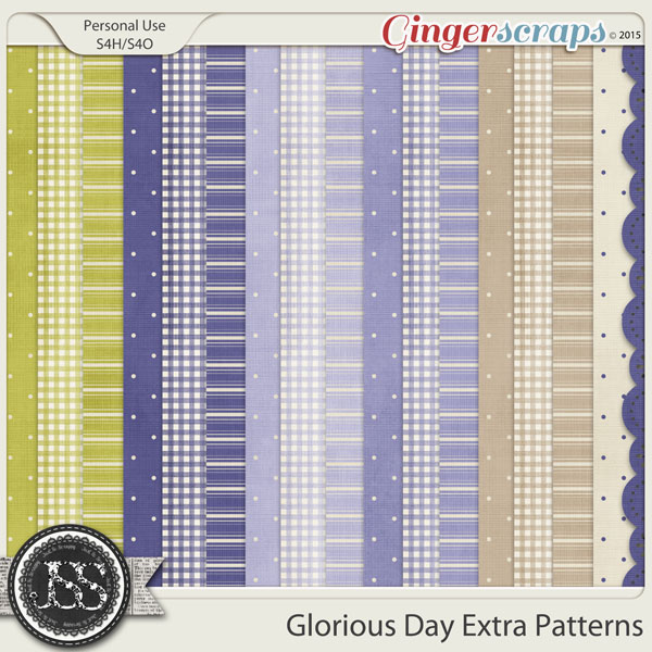 Glorious Day Extra Pattern Papers