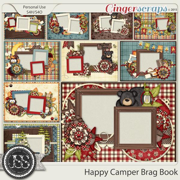 Happy Camper Brag Book
