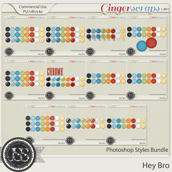 Hey Bro CU Photoshop Styles Bundle