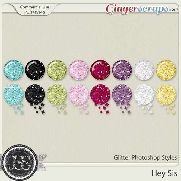 Hey Sis CU Photoshop Glitter Styles