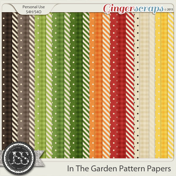 In The Garden Pattern Papers