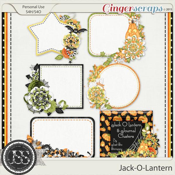 Jack O Lantern Journal Clusters
