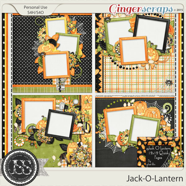 Jack O Lantern Quick Pages