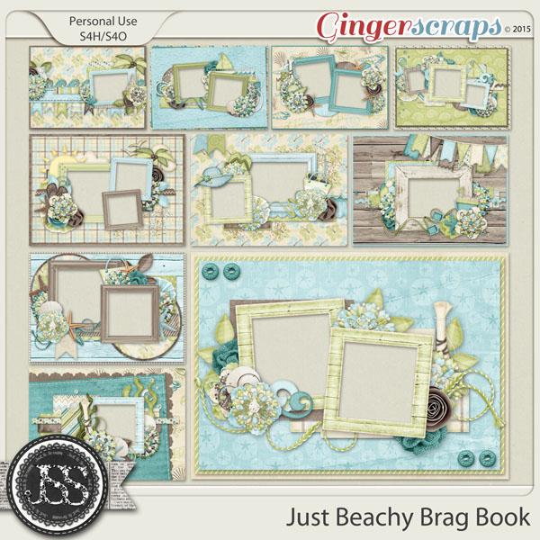 Just Beachy 5x7 Brag Book