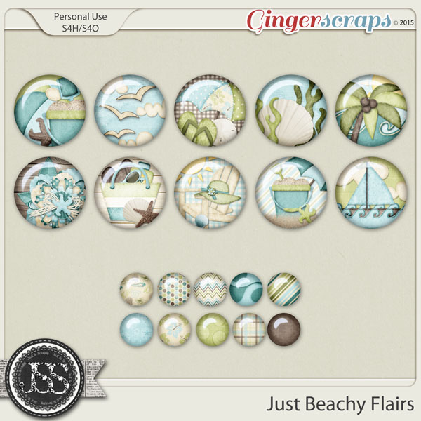 Just Beachy Flairs