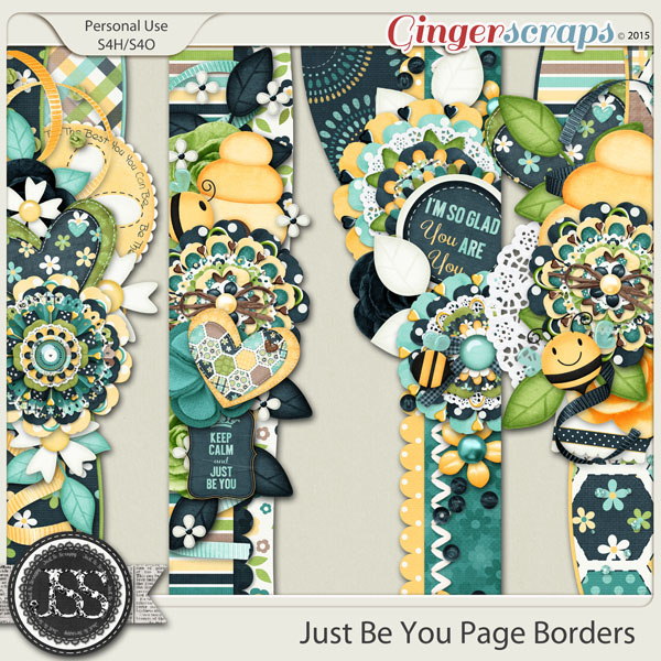 Just Be You Page Borders