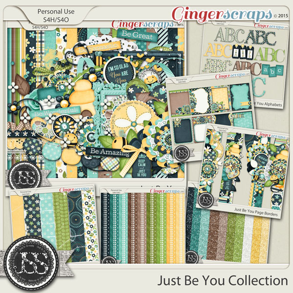 Just Be You Digital Scrapbook Bundle