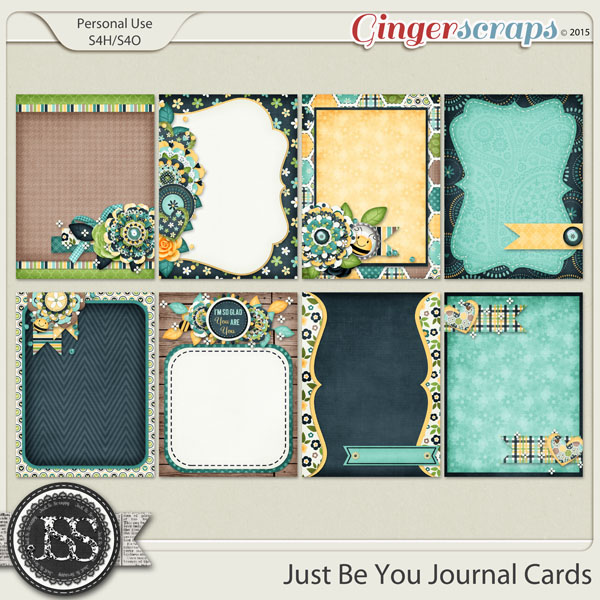 Just Be You Journal and Pocket Scrapbooking Cards