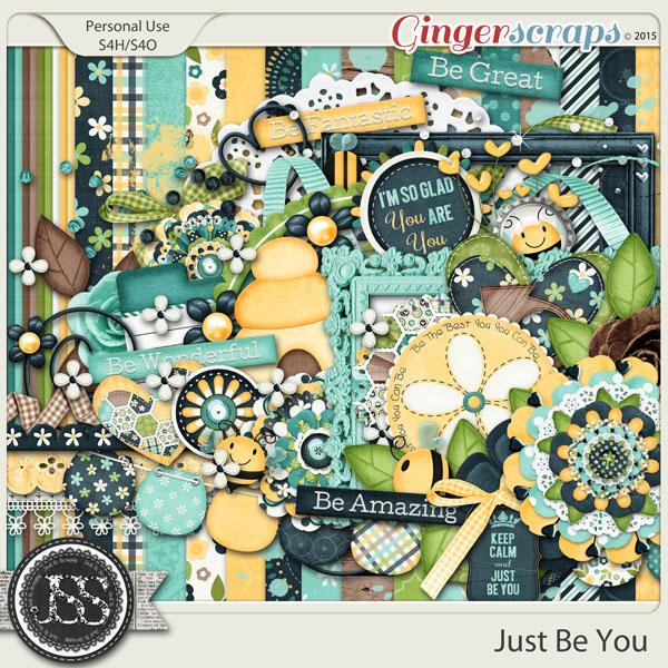 Just Be You Digital Scrapbook Kit