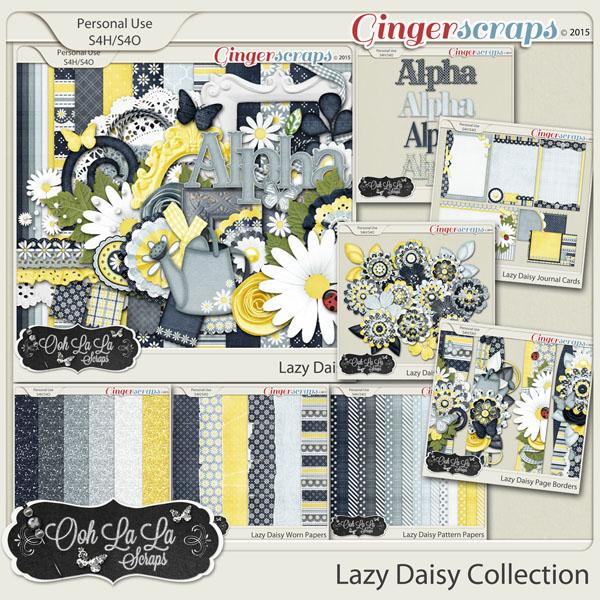 Lazy Daisy Digital Scrapbook Bundle