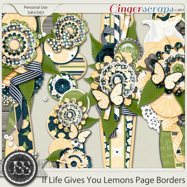 If Life Gives You Lemons Page Borders