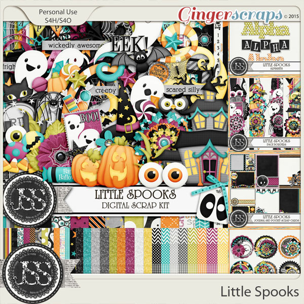 Little Spooks Digital Scrapbooking Bundle