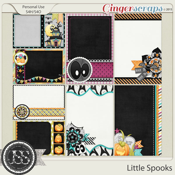 Little Spooks Journal and Pocket Scrapbooking Cards