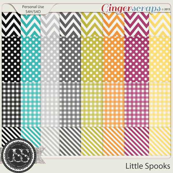 Little Spooks Pattern Papers