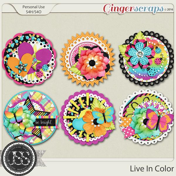 Live In Color Cluster Seals