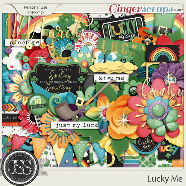 Lucky Me Digital Scrap Kit