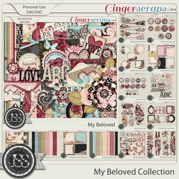 My Beloved Digital Scrapbook Bundle