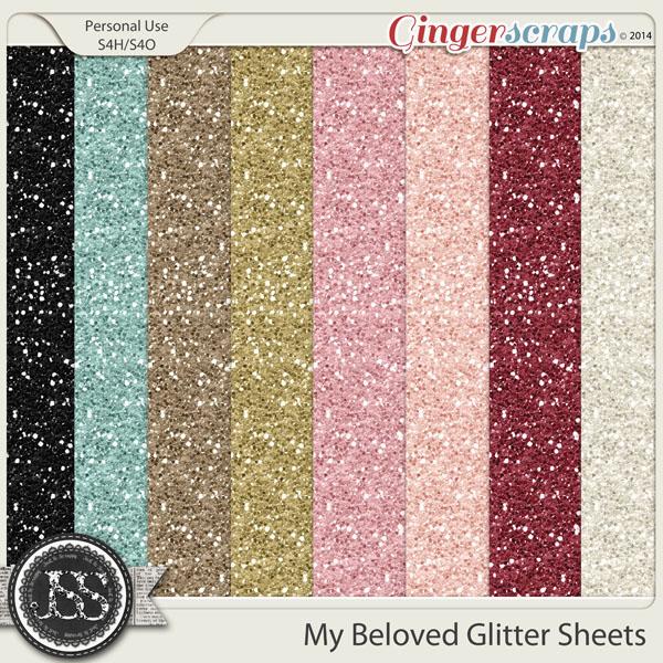 My Beloved Glitter Sheets