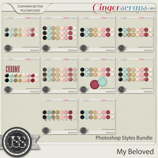 My Beloved Photoshop Styles Bundle