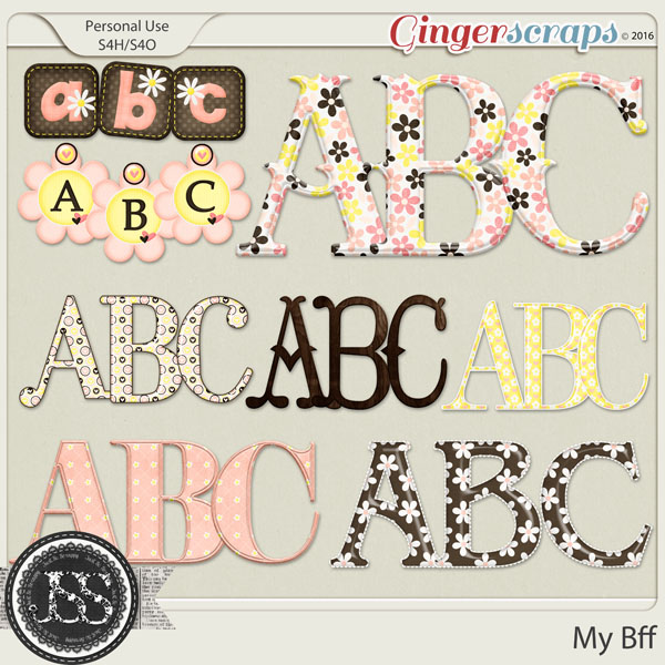My Bff Alphabets