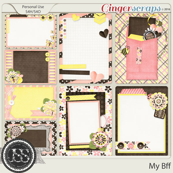 My Bff Journal and Pocket Scrapbooking Cards